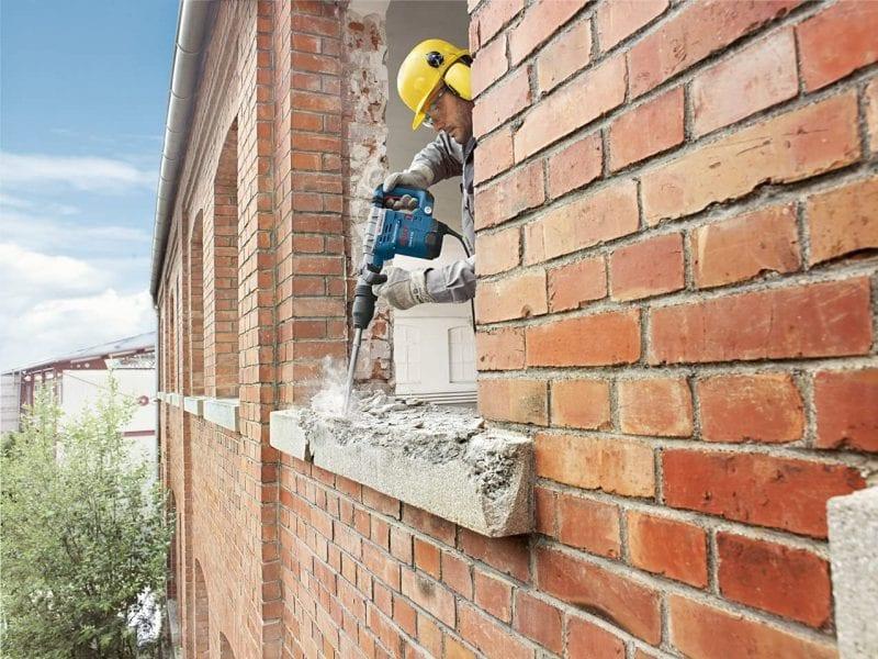 Martillo demoledor Bosch Professional GSH 5 CE reseña